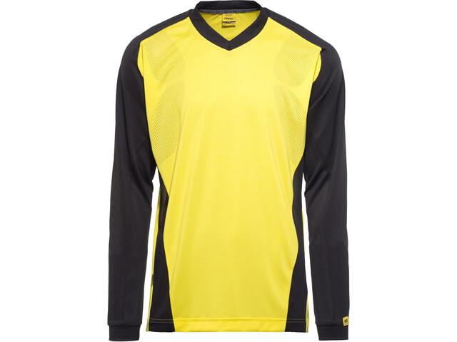 Mavic Stratos Jersey LS Herren yellow mavic black